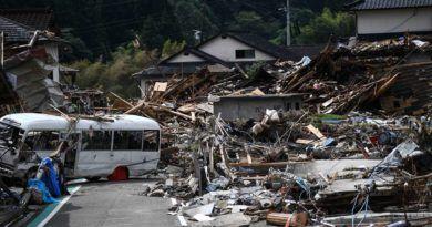 Alrededor de 60 muertos por inundaciones en el centro de Japón