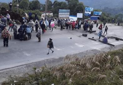 Cívicos provinciales anuncian que saldrán a desbloquear las carreteras si el Gobierno no toma acciones